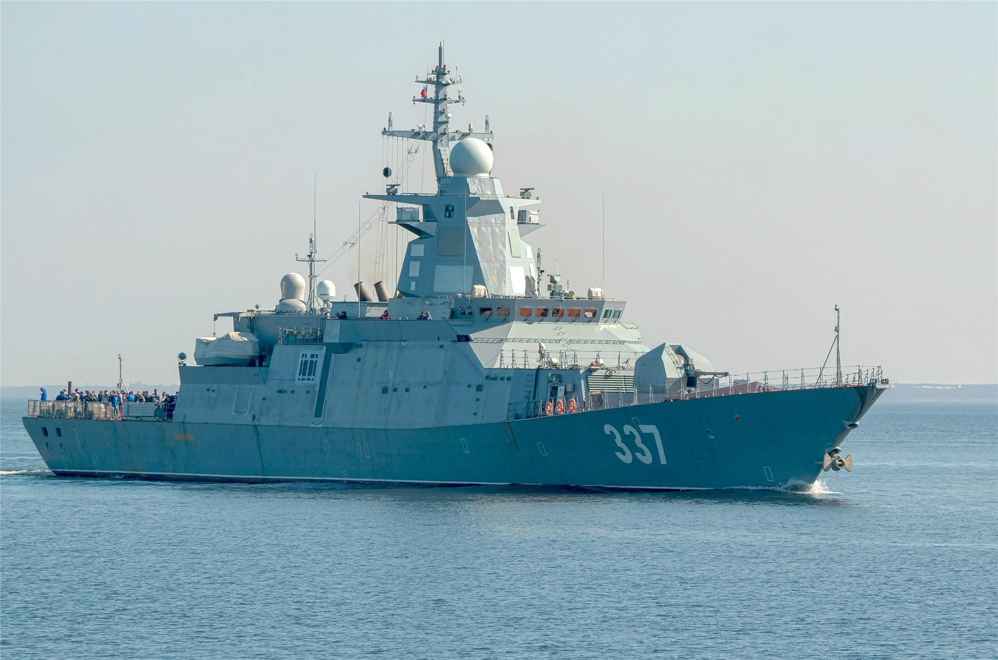 ВМФ России пополнил корвет «Гремящий»