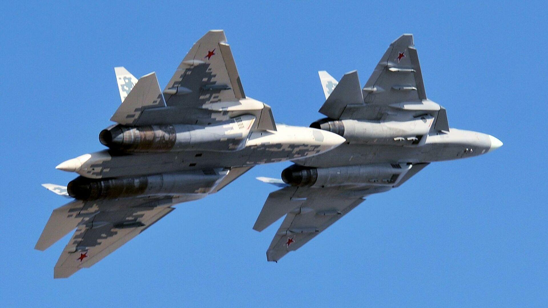 На юге России разместили первый серийный истребитель Су-57
