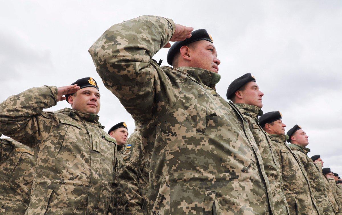 Украинская армия перешла на воинские звания НАТО