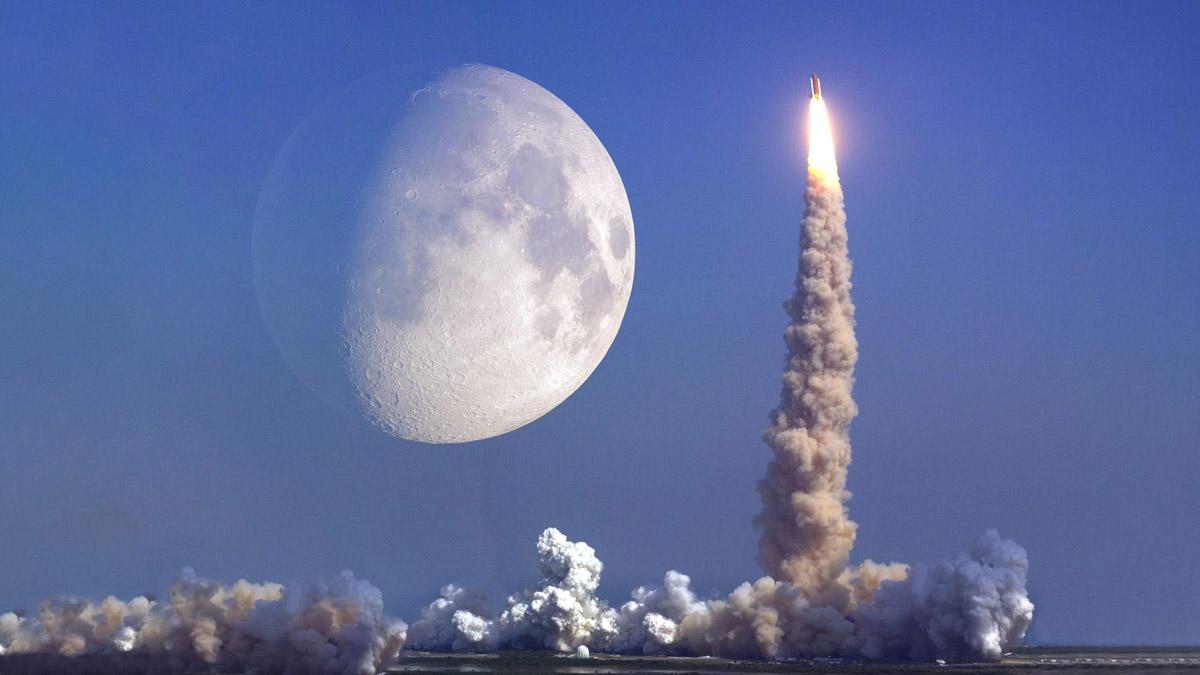 Создание сверхтяжелой ракеты для полетов на Луну решили отложить