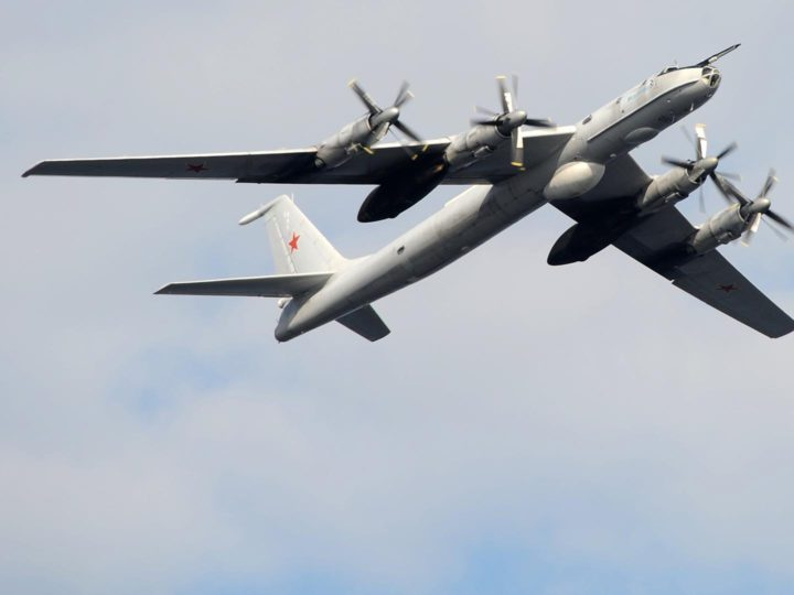 Российские самолеты в районе Аляски встревожили США