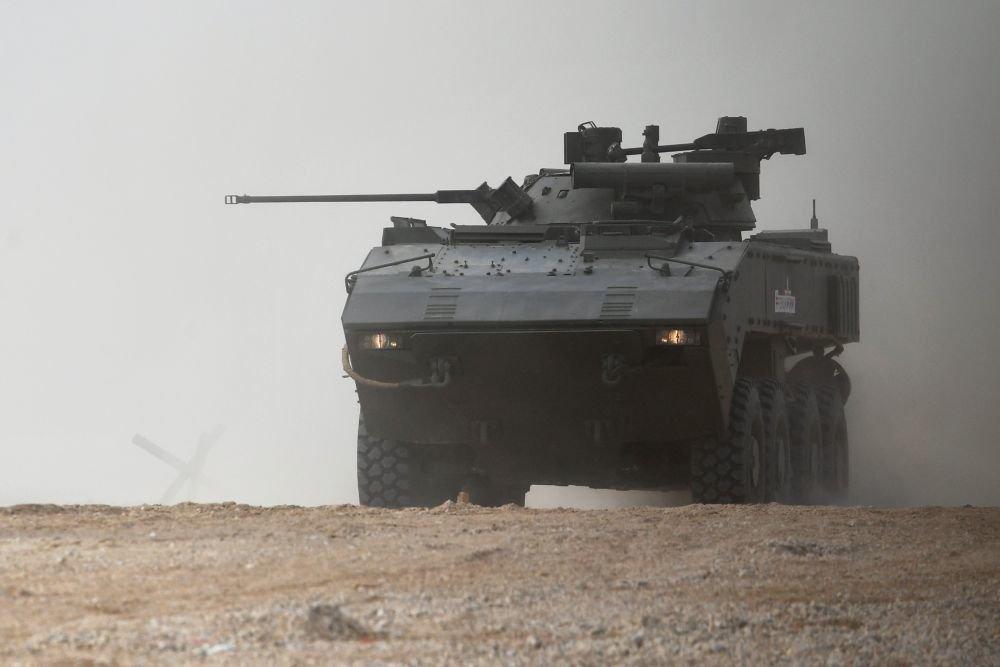 Боевой модуль «Охотник» успешно испытали в России