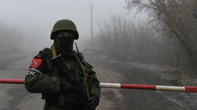 Украинская сторона заявила о нарушении перемирия на Донбассе