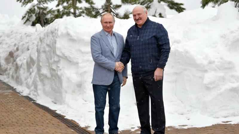 Стали известны подробности встречи Лукашенко и Путина