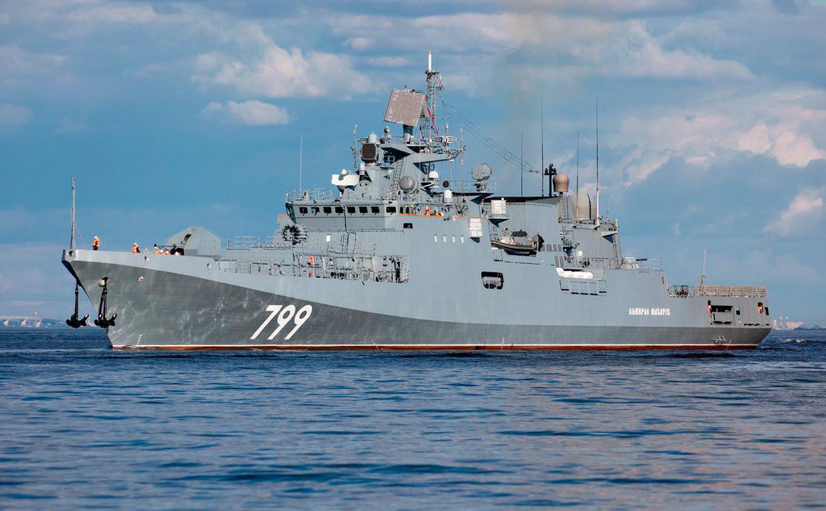 Россия уничтожила корабль условного противника в Черном море