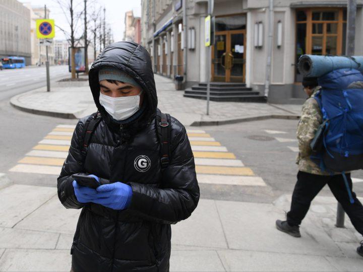 Заболеваемость коронавирусом в России связали с погодой