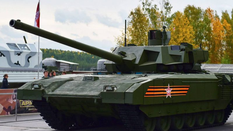 Россия будет поставлять за рубеж танк «Армата»