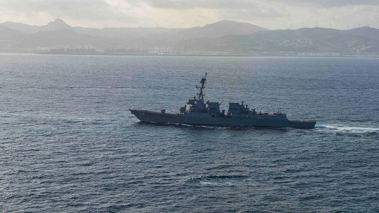 Американский эсминец покинул Черное море
