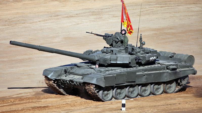 На Западе восхитились российским танком Т-90М