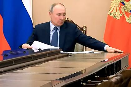 Путин ловко поймал карандаш и восхитил журналистов