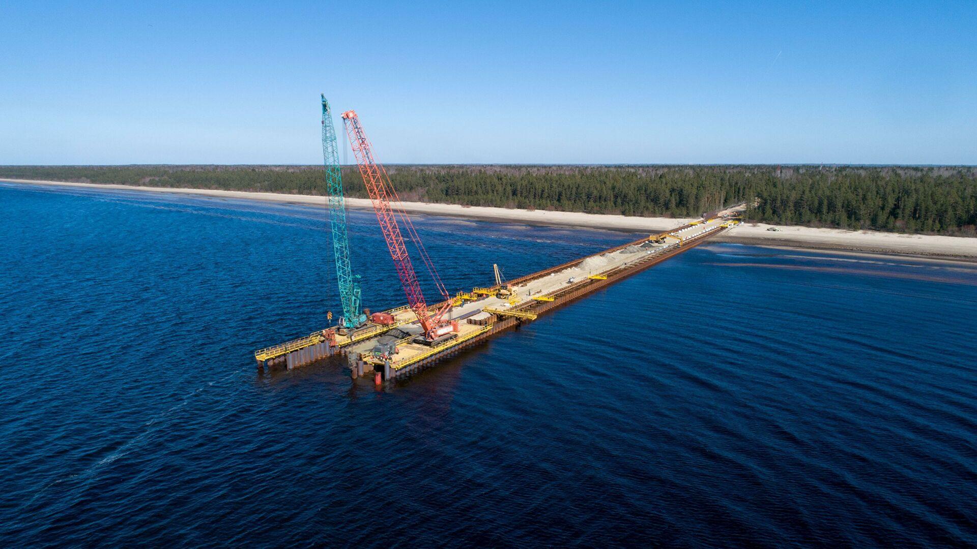 Военные корабли обнаружили в зоне строительства «Северного потока-2»