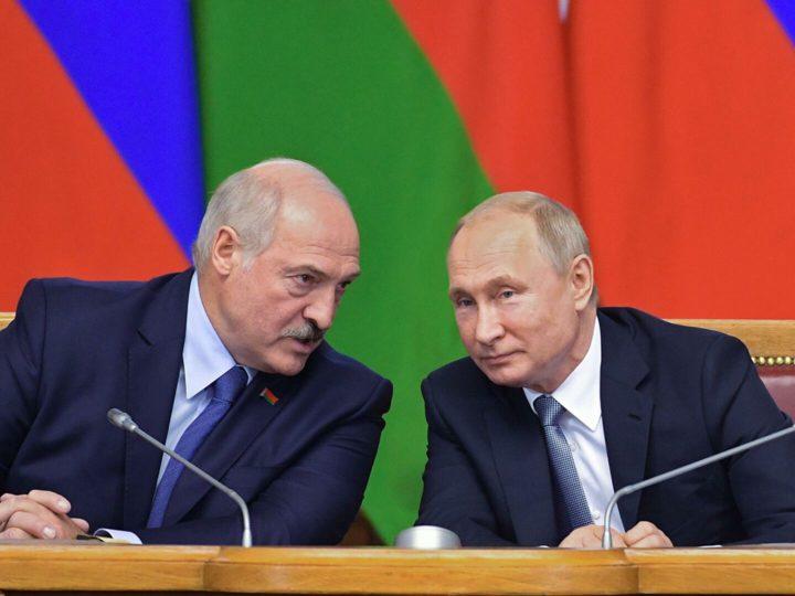 Названы темы будущих переговоров Путина и Лукашенко