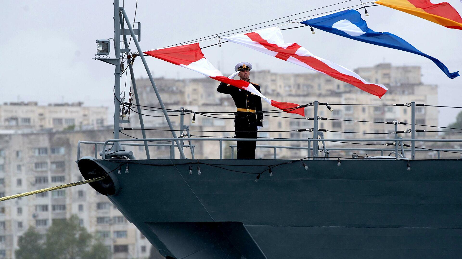 В Черное море вышли российские корабли