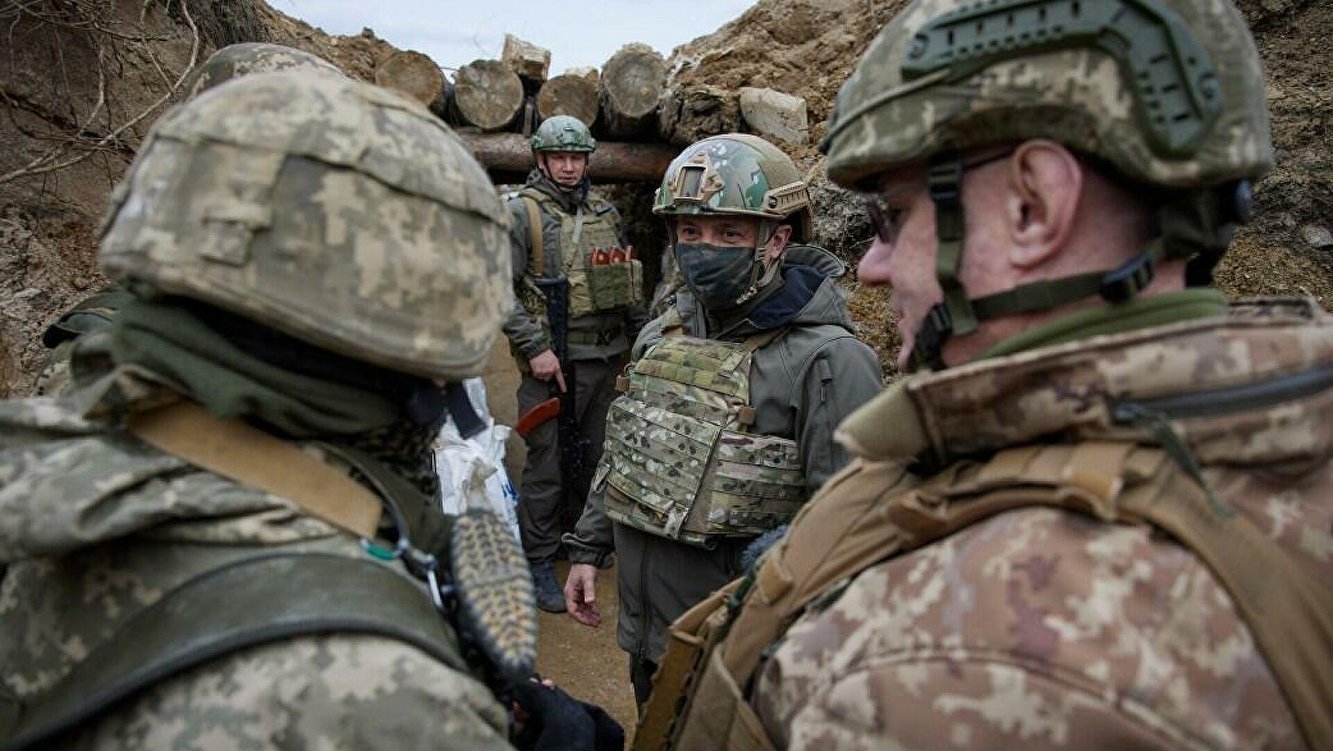 Украину обвинили в минировании позиций на Донбассе