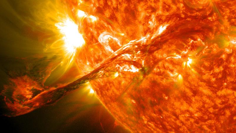 Российские ученые рассказали о вспышках на Солнце
