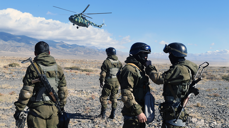 На границе Киргизии и Таджикистана произошла перестрелка силовиков