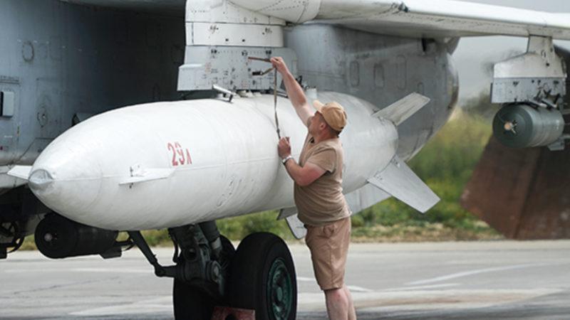 ВКС России подняли в небо в Сирии в ожидании удара террористов