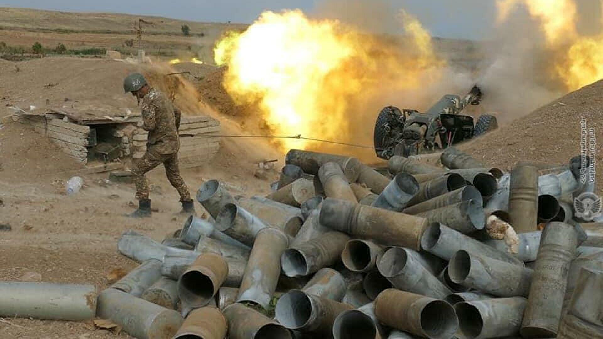 Азербайджан обвинил Армению в обстрелах