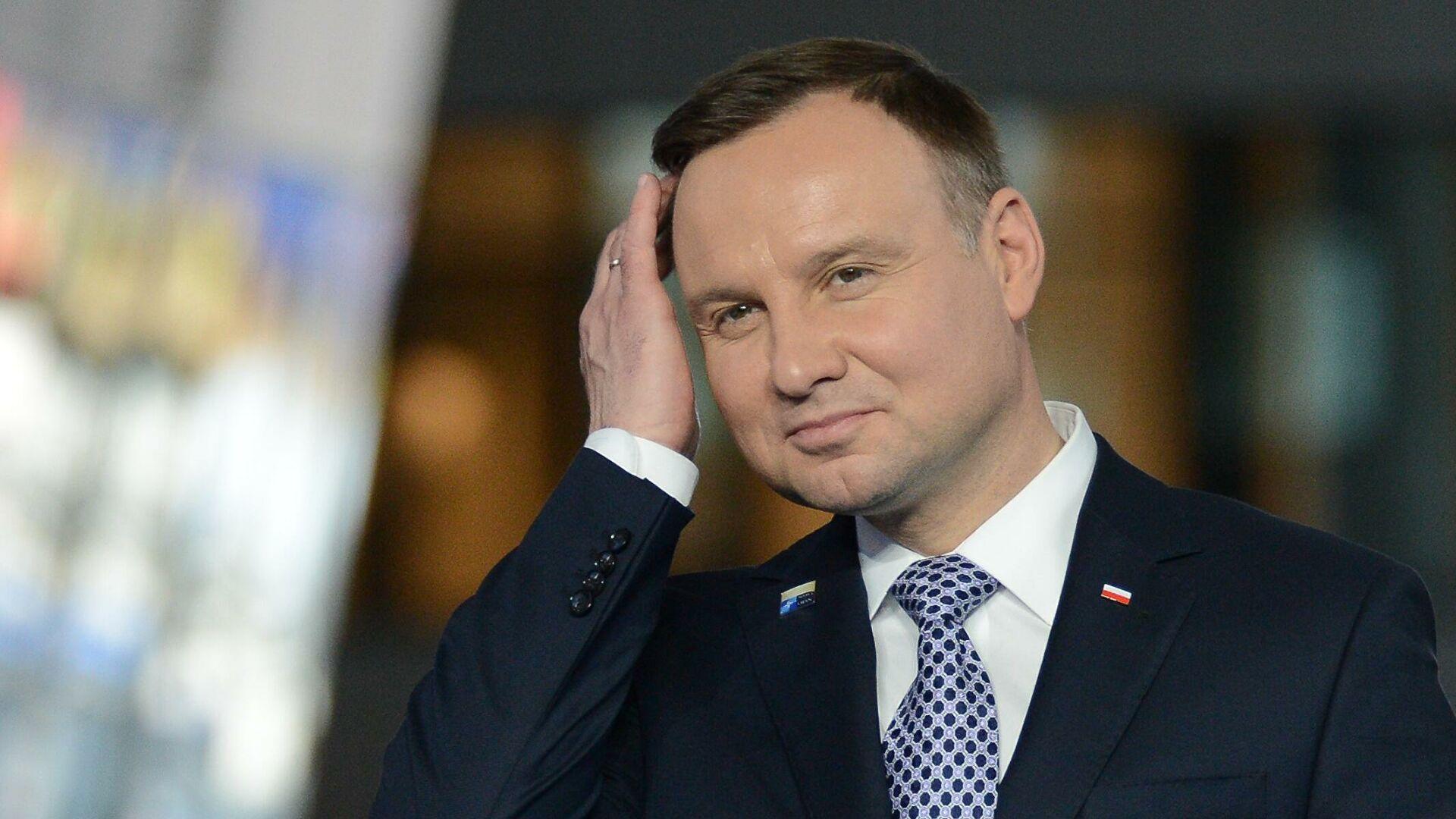 Президент Польши назвал Россию агрессором и «ненормальной» страной