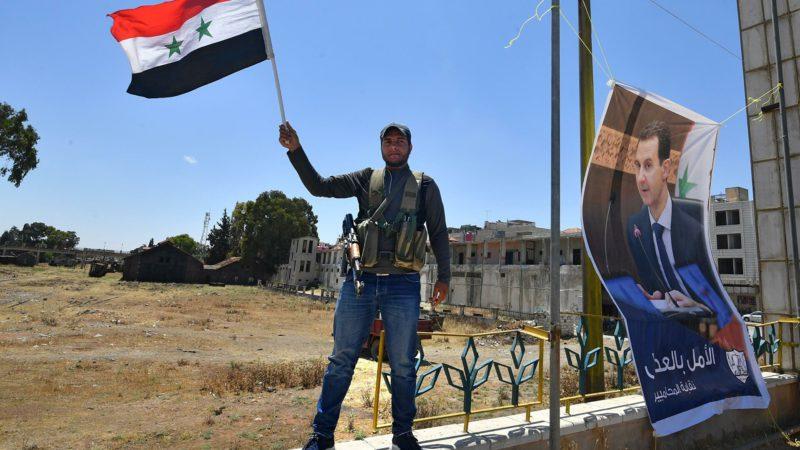 В сирийском городе Дераа прогремел взрыв в день выборов