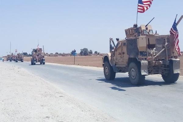 Российские военные блокировали американцев в Сирии