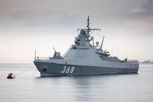 Российский патрульный корабль отправился в Средиземное море