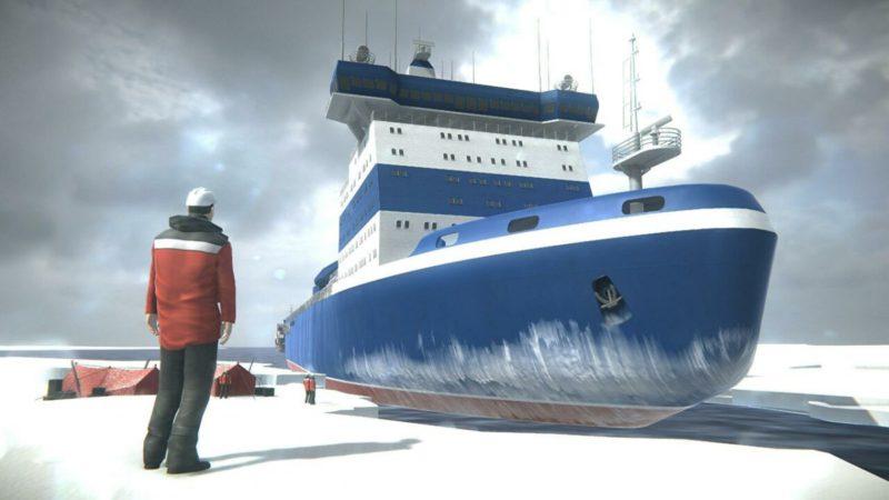 Самый мощный ледокол в мире заложили в России