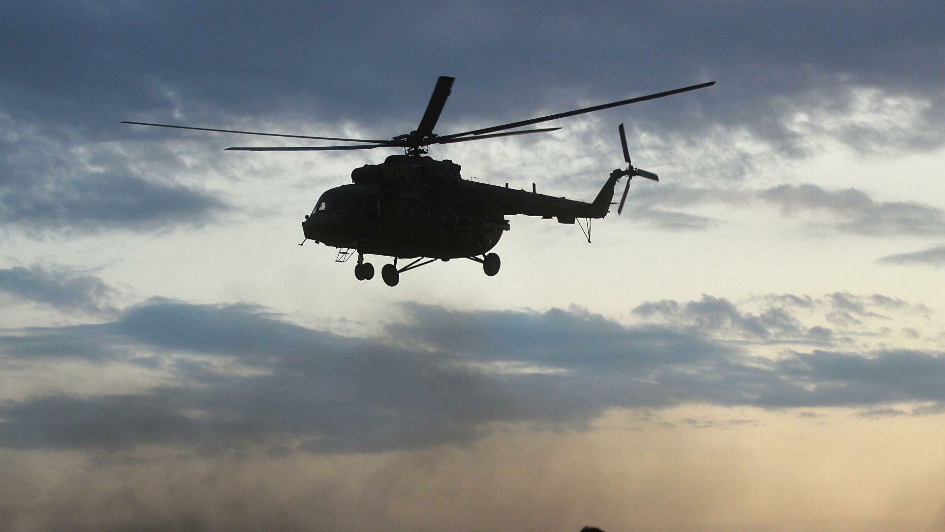 Вертолет с туристами потерпел крушение на Камчатке