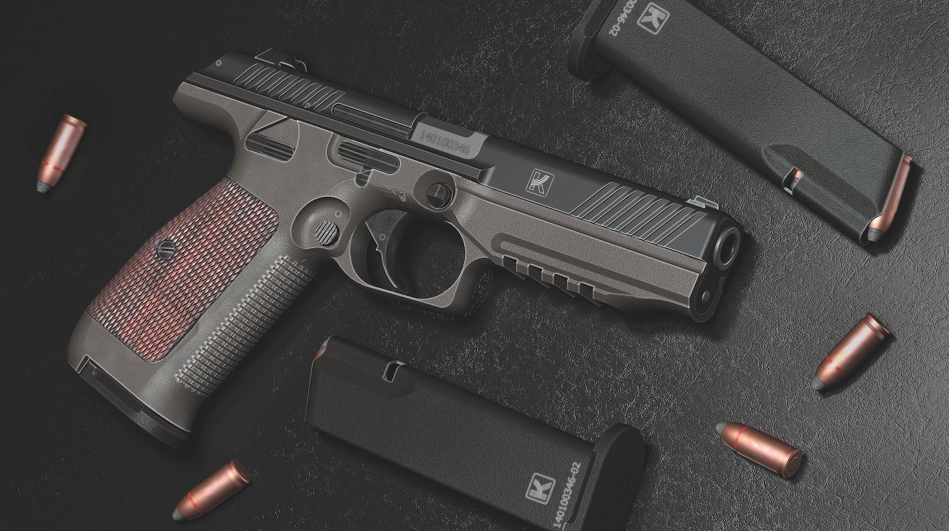 Новое оружие заменит пистолет Макарова в МВД