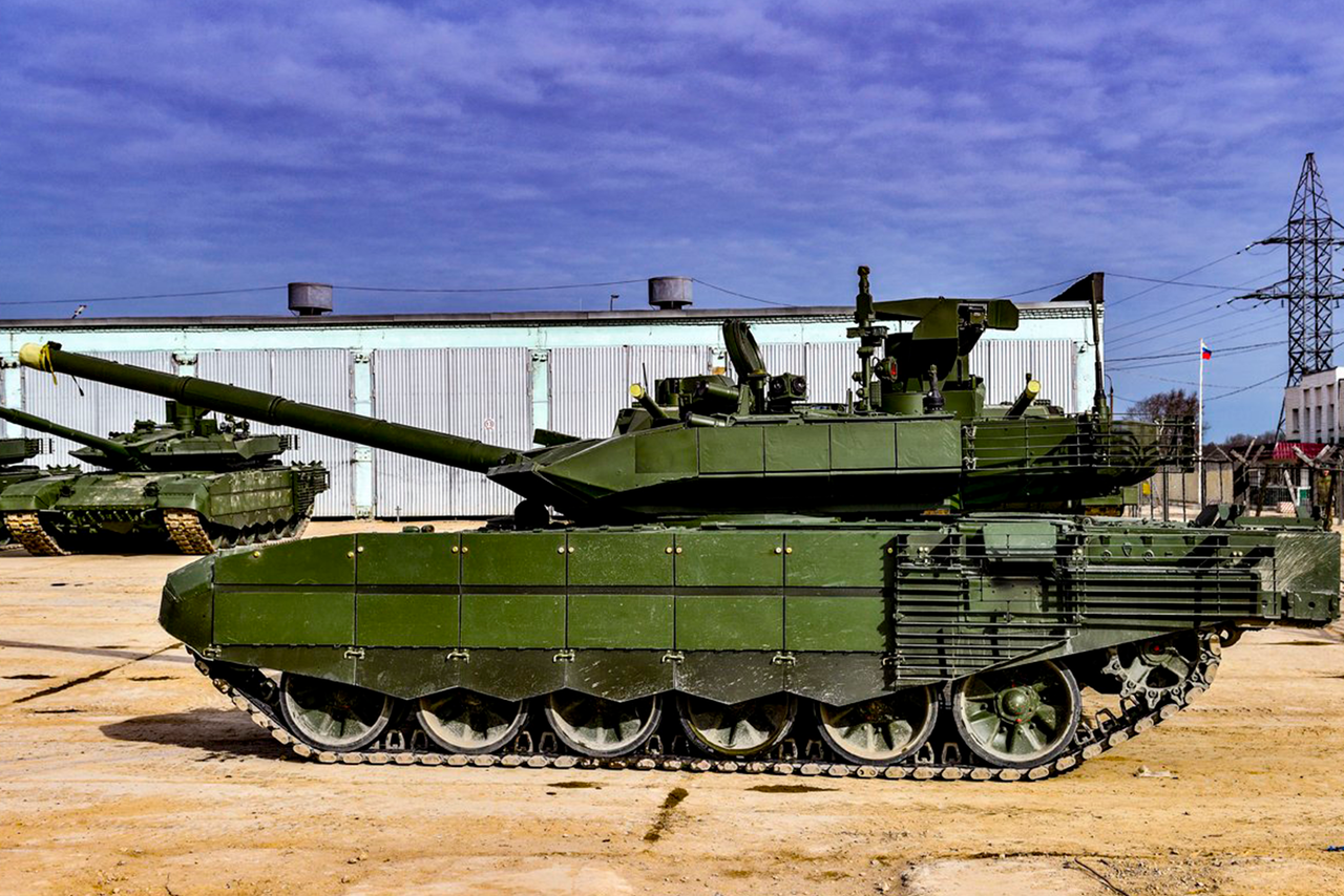 Российский танк Т-90М японцы назвали монстром