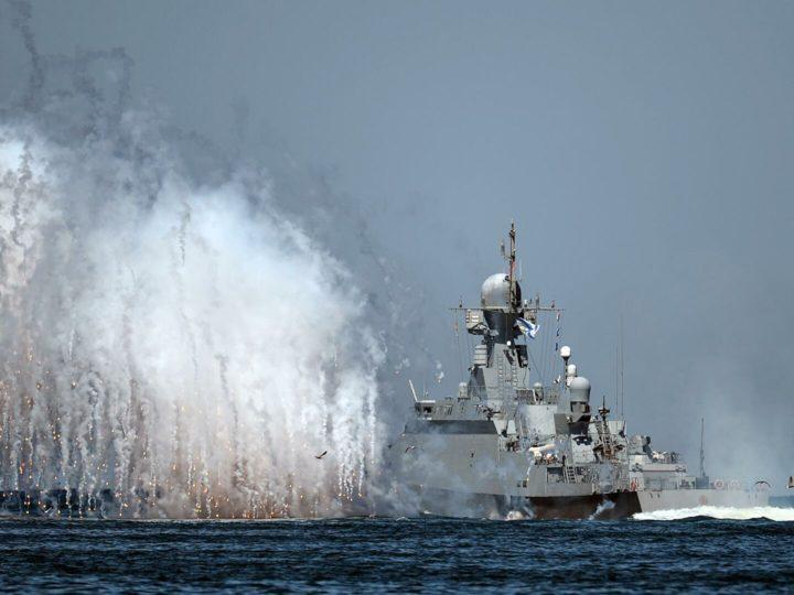 Российский флот начал учения в Черном море