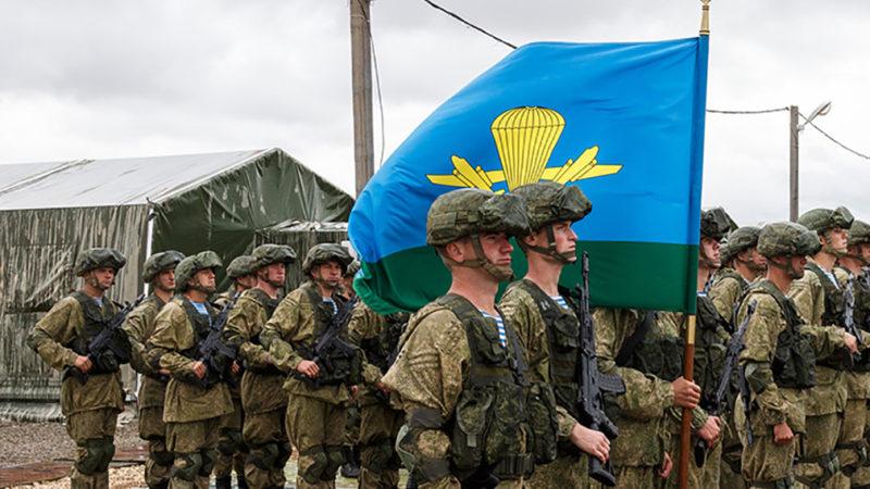 Масштабные учения ВДВ России начались в Крыму