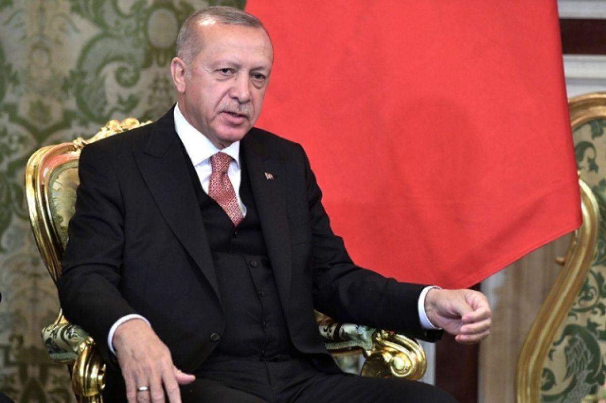 Эрдоган объяснил покупку российских С-400