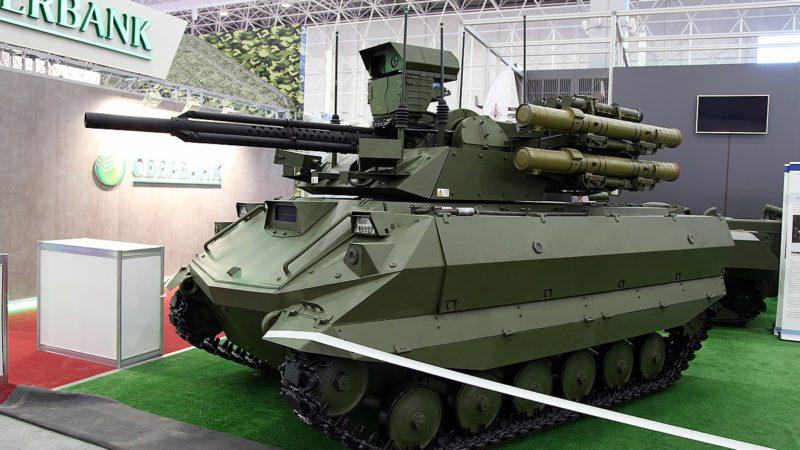 Боевые роботы «Уран-9» поступят на вооружение российской армии