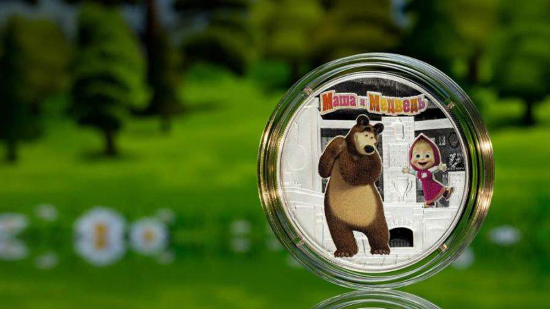 На российских деньгах появились персонажи «Маши и Медведя»