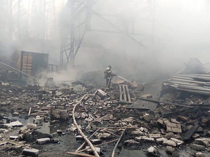 Больше десяти человек погибли под Рязанью из-за взрыва на заводе пороха